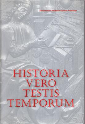 HISTORIA VERO TESTIS TEMPORUM