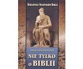 Szczegóły książki NIE TYLKO O BIBLII