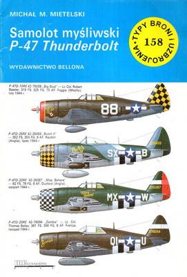SAMOLOT MYŚLIWSKI P-47 THUNDERBOLT
