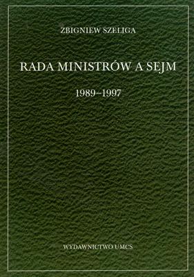 RADA MINISTRÓW A SEJM 1989 - 1997