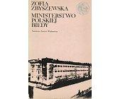 Szczegóły książki MINISTERSTWO POLSKIEJ BIEDY