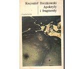 Szczegóły książki APOKRYFY I FRAGMENTY