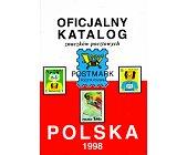 Szczegóły książki OFICJALNY KATALOG ZNACZKÓW POCZTOWYCH POLSKA 1998