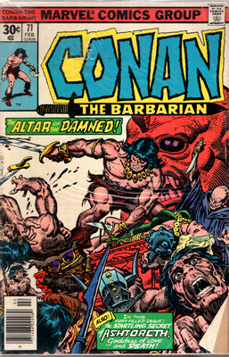 CONAN THE BARBARIAN - THE SECRET OF ASHTORETH!