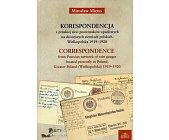 Szczegóły książki KORESPONDENCJA Z PRUSKIEJ SIECI POSTERUNKÓW OPADOWYCH....