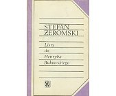 Szczegóły książki LISTY DO HENRYKA BUKOWSKIEGO