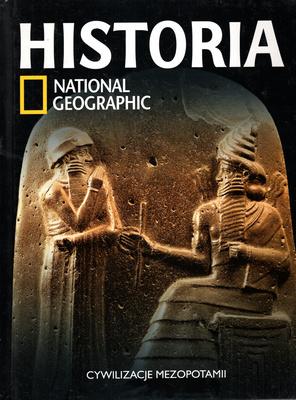 HISTORIA NATIONAL GEOGRAPHIC - TOM 4 - CYWILIZACJE MEZOPOTAMII