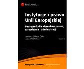 Szczegóły książki INSTYTUCJE I PRAWO UNII EUROPEJSKIEJ