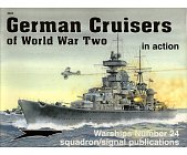 Szczegóły książki GERMAN CRUISERS OF WORLD WAR II IN ACTION