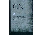 Szczegóły książki CYPRIAN NORWID. OSOBY I LISTY