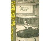 Szczegóły książki NOC GENERAŁA