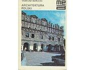 Szczegóły książki ARCHITEKTURA POLSKI