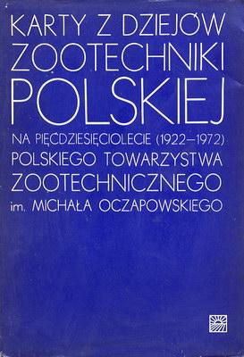 KARTY Z DZIEJÓW ZOOTECHNIKI POLSKIEJ