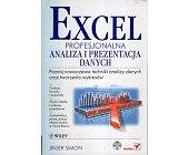 Szczegóły książki EXCEL. PROFESJONALNA ANALIZA I PREZENTACJA DANYCH