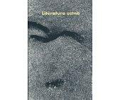 Szczegóły książki LITERATURA USTNA