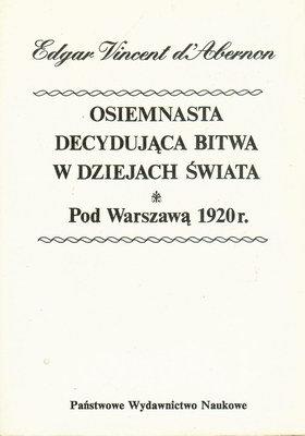 OSIEMNASTA DECYDUJĄCA BITWA W DZIEJACH ŚWIATA...