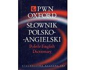 Szczegóły książki SŁOWNIK POLSKO - ANGIELSKI