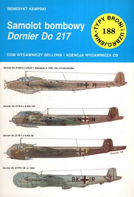 SAMOLOT BOMBOWY DORNIER DO 217