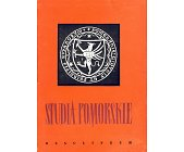 Szczegóły książki STUDIA POMORSKIE - 2 TOMY
