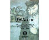 Szczegóły książki JUDAICA