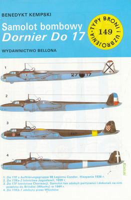 SAMOLOT BOMBOWY DORNIER DO 17 (149)