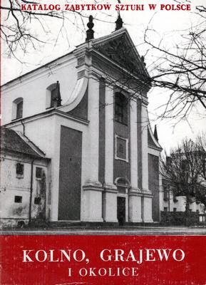 KATALOG ZABYTKÓW SZTUKI W POLSCE - TOM 9 ZESZYT 3