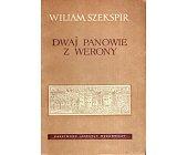 Szczegóły książki DWAJ PANOWIE Z WERONY