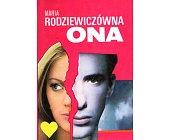 Szczegóły książki ONA