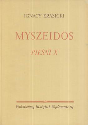 MYSZEIDOS PIEŚNI X