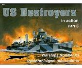 Szczegóły książki US DESTROYERS IN ACTION, PART 3
