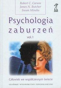 PSYCHOLOGIA ZABURZEŃ - TOM I  TOM II