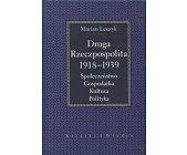 Szczegóły książki DRUGA RZECZPOSPOLITA 1918 - 1939