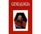 Szczegóły książki GENEALOGIA - TOM 19