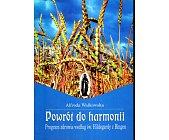 Szczegóły książki POWRÓT DO HARMONII