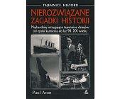 Szczegóły książki NIEROZWIĄZANE ZAGADKI HISTORII