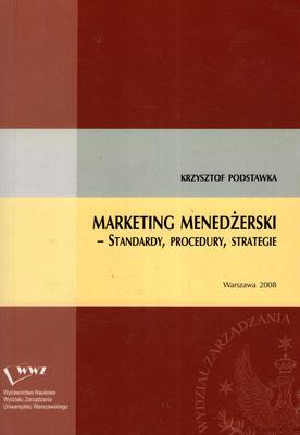 MARKETING MENEDŻERSKI