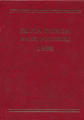 ZŁOTA KSIĘGA NAUKI POLSKIEJ 1999