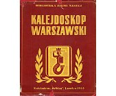 Szczegóły książki KALEJDOSKOP WARSZAWSKI
