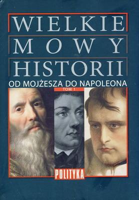 WIELKIE MOWY HISTORII - 4 TOMY