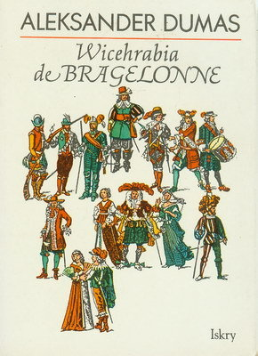 WICEHRABIA DE BRAGELONNE - 3 TOMY