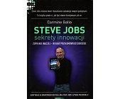 Szczegóły książki STEVE JOBS - SEKRETY INNOWACJI