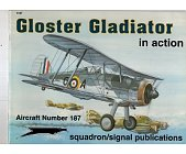 Szczegóły książki GLOSTER GLADIATOR IN ACTION