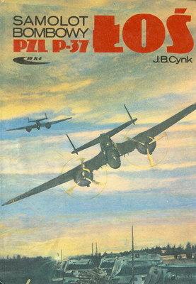 SAMOLOT BOMBOWY PZL P - 37 ŁOŚ