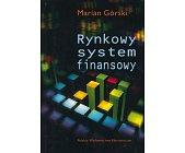 Szczegóły książki RYNKOWY SYSTEM FINANSOWY