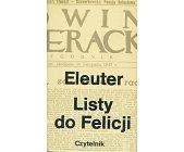 Szczegóły książki LISTY DO FELICJI
