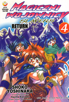 SLAYERS - MAGICZNI WOJOWNICY - TOM 4 - RETURN