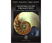 Szczegóły książki NIEZWYKŁE LICZBY FIBONACCIEGO