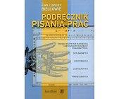 Szczegóły książki PODRĘCZNIK PISANIA PRAC