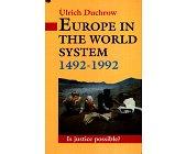 Szczegóły książki EUROPE IN THE WORLD SYSTEM 1492 - 1992