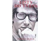Szczegóły książki LISTY DO YVES'A